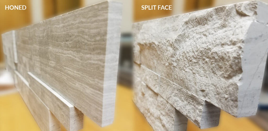 honed-vs.split-face-texture-side-by-side