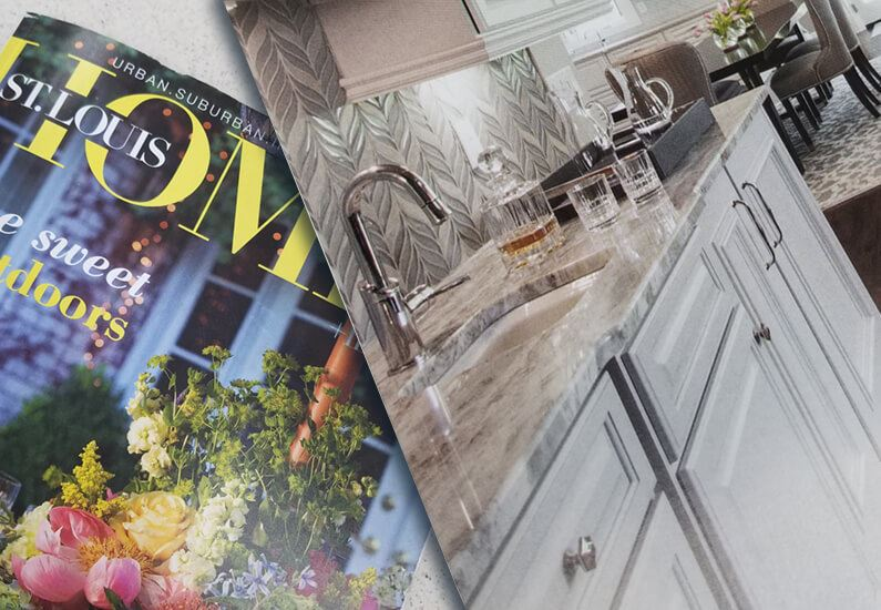 St. Louis Home Mag Features Tile From Premier Tile